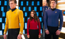 Gersha Phillips o nových uniformách posádky Enterprise