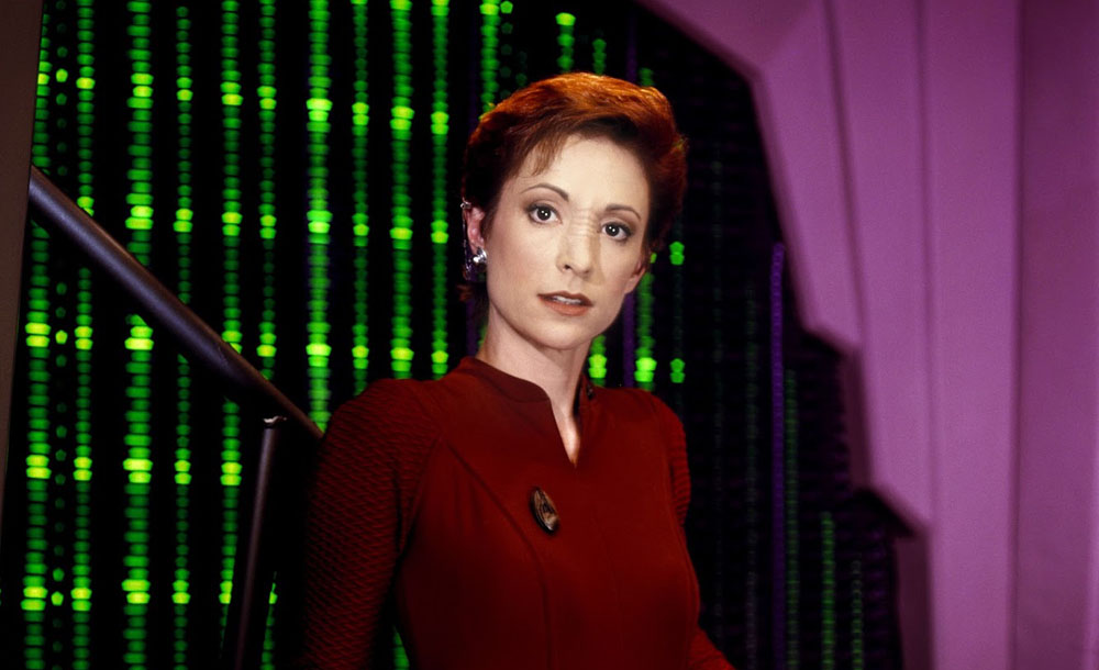 Visitor a Wang o DS9, o Orville, o roli Kiry a o kapitánce Janewayové…