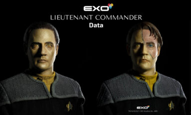 Hyperrealistická figurka nadporučíka Data od EXO-6